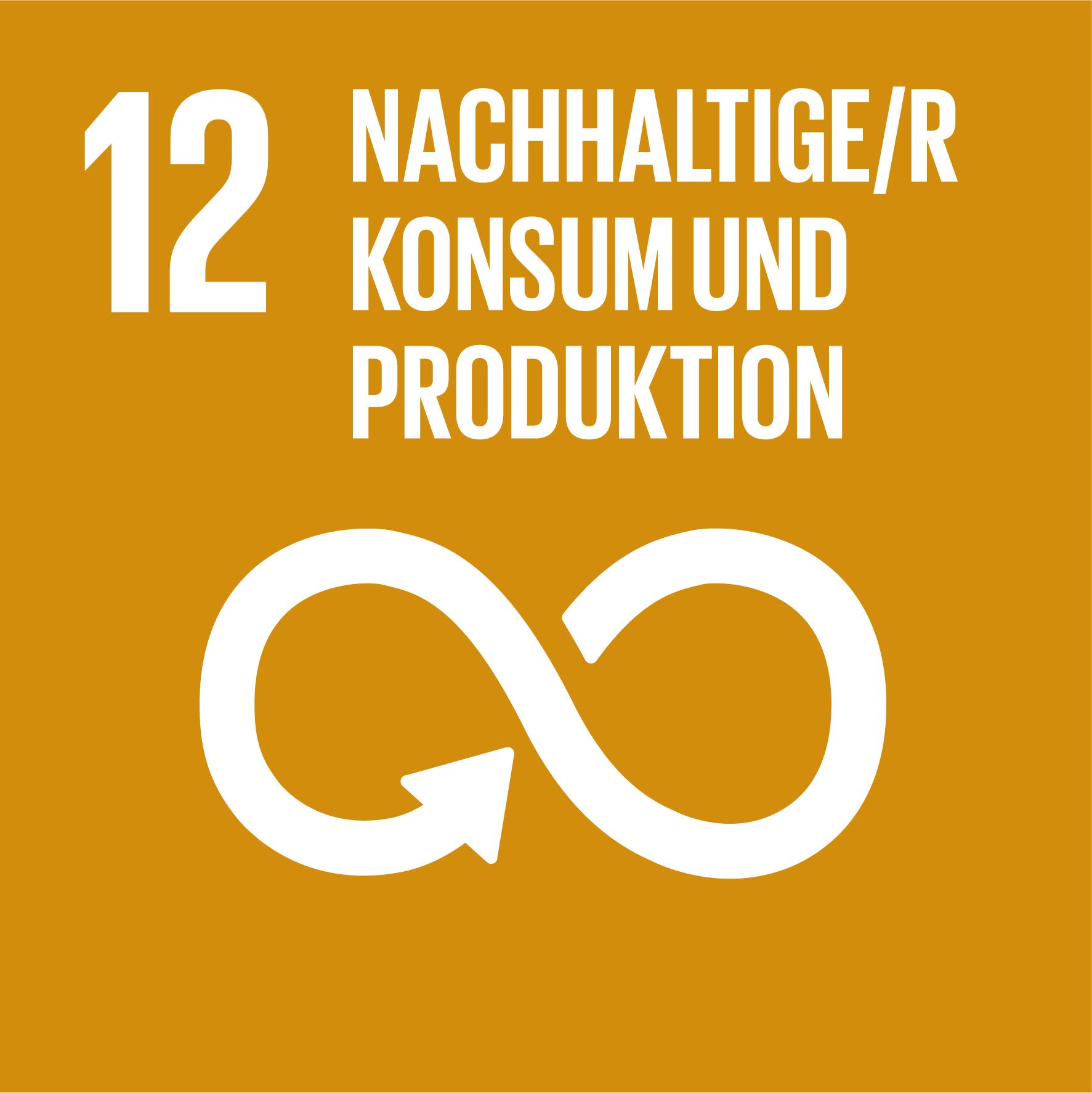 12 Nachhaltige/r Konsum und Produktion